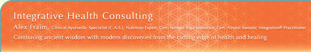 Integrative Health Consulting: Alex Fraim, Clinical